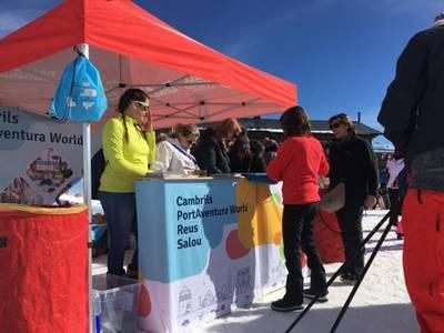 Cambrils, Reus, Salou y PortAventura World se promocionan conjuntamente en la Illa Carlemany y Vall Nord de Andorra