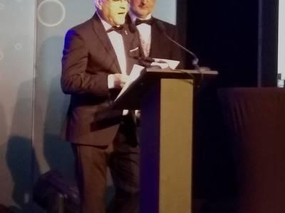 El alcalde de Salou, Pere Granados, asiste a la 29 edición de los Irish Travel Trade Awards, celebrada en Dublín