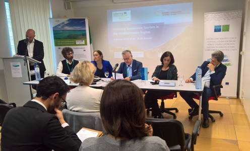 El alcalde de Salou, Pere Granados, como diputado provincial, participa en la Semana Europea de las Regiones y Ciudades en Bruselas