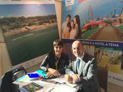 El Patronat de Salou participa en la feria TTG Incontri en Rimini, para promocionar las excelencias del destino