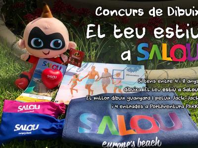 """El Patronato de Turismo de Salou convoca la 4ª edición del concurso de dibujo """"Tu verano en Salou"""""""