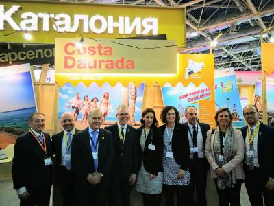 El Patronato de Turismo de Salou viaja a la Feria MITT de Moscú para captar nuevos visitantes