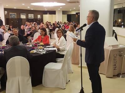 El alcalde de Salou da la bienvenida a 100 agentes de viaje de toda Espanya con motivo del Costa Daurada Life