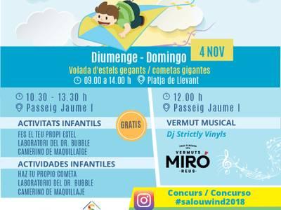 La capital de la Costa Dorada celebra este domingo la primera edición del Salou Wind 2018
