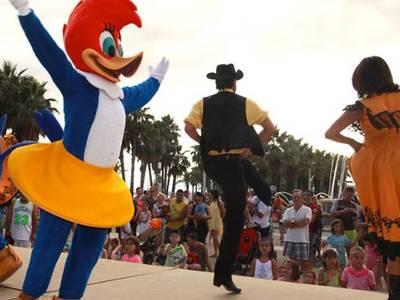 Salou acoge nuevos espectáculos infantiles para potenciar la marca de Destino en Turismo Familiar