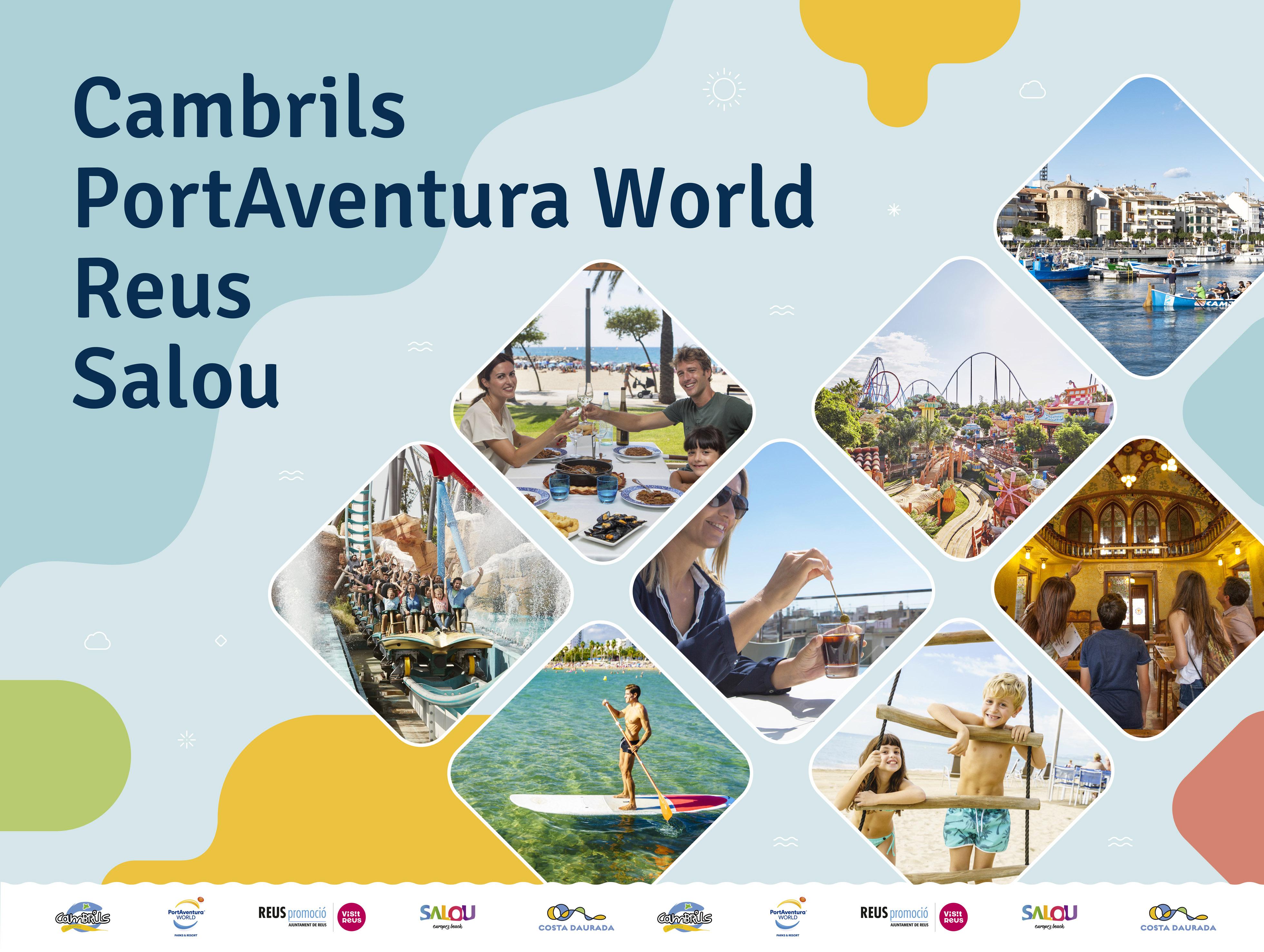Salou Cambrils Reus Y Portaventura World Dan A Conocer Su Oferta A Sevatur La Feria De Las Vacaciones Del País Vasco Promoción Turística