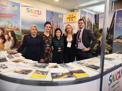 Salou participa en la feria UITT de Kiev para captar nuevos visitantes