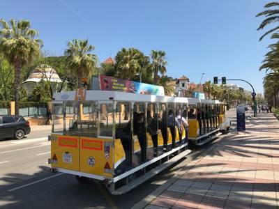 Salou pone a disposición de la ciudadanía una nueva línea de Tren Turístico
