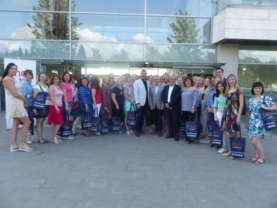 Salou recibe una delegación del touroperador Anex Tour y agentes de viajes rusos