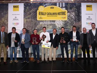 Victoria para Ruben Maes-Michel Périn (Porsche) en el 4t Rally Catalunya Històric-Rally de les Caves