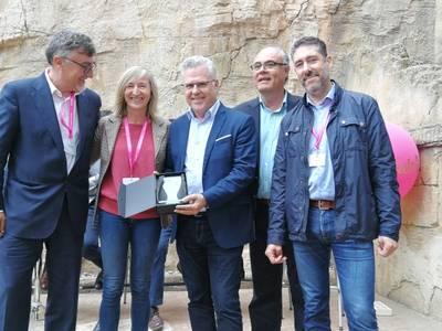 El Ayuntamiento de Salou premiado en el congreso Localtic 2019 en la categoría Smart Cities