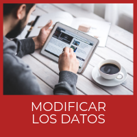 Modificar los datos