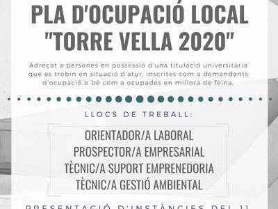 """Salou pone en marcha la cuarta edición del Pla d'Ocupació Local """"Torre Vella"""" destinado a titulados universitarios"""