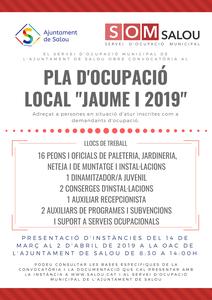 Salou pone en marcha un nuevo Plan de Ocupación Local para emplear a 22 personas en situación de desempleo