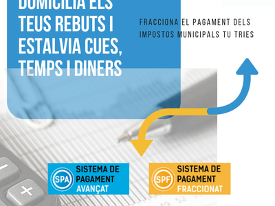 El Ayuntamiento de Salou modifica las condiciones de los Sistemas de Pago de tributos avanzados y fraccionados