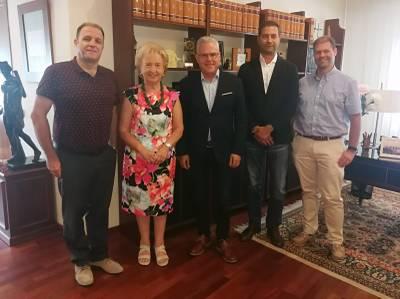 El alcalde de Salou y la presidenta de la Cámara de Comercio de Tarragona acercan posturas para impulsar proyectos de territorio