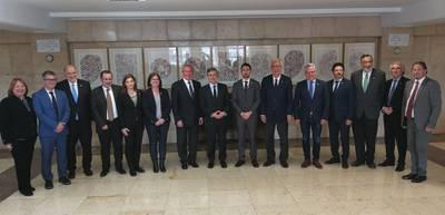 Los ayuntamientos del territorio y Generalitat acuerdan constituir una comisión técnica con el Ministerio de Fomento para desarrollar las infraestructuras ferroviarias en el Camp de Tarragona