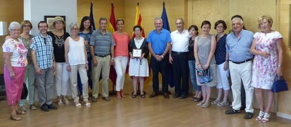 El Ayuntamiento rinde homenaje a Dolores Cedó con motivo de su jubilación