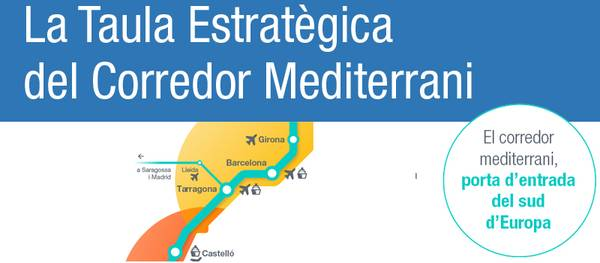 Salou entra a formar parte de la Mesa Estratégica Catalana del Corredor Mediterráneo