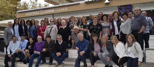 Unas cincuenta personas participan en el V encuentro de Albojenses en Salou