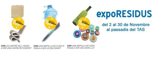 """Salou conciencia sobre el reciclaje con la exposición """"Residus materia de primera"""""""