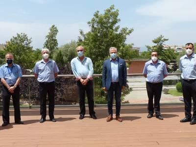 El alcalde de Salou reconoce la labor de los ordenanzas del Ayuntamiento, 'que han trabajado, en primera línea', durante la pandemia de la COVID-19
