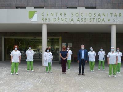 El alcalde Pere Granados pone en valor la dedicación y profesionalidad del personal del Centro Sociosanitario y Residencia Asistida STS de Salou