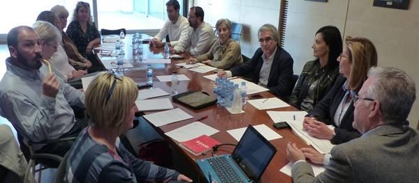 El alcalde recibe a la Asociación Empresarial Zona Turística Salou para tratar temas de interés de la zona