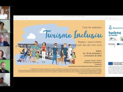 El alcalde y diputado provincial Pere Granados destaca el turismo inclusivo como fórmula que puede contribuir a la desestacionalización en la Costa Daurada