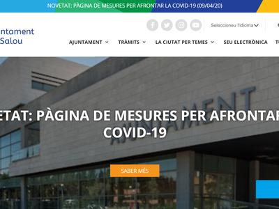 El Ayuntamiento de Salou incorpora una asistente virtual en sus portales web, para que la ciudadanía pueda resolver dudas sobre el COVID-19
