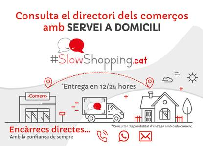 El Ayuntamiento de Salou se adhiere a la plataforma Slowshopping.cat, para impulsar el comercio a domicilio de los establecimientos del municipio