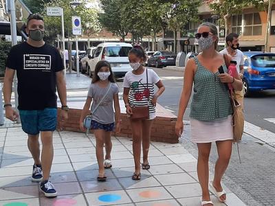 El Ayuntamiento de Salou valora positivamente el cumplimiento mayoritario del uso obligatorio de mascarillas por parte de la ciudadanía