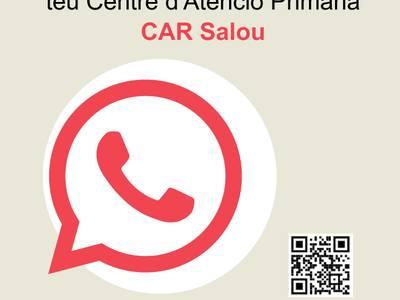 El Centro de Alta Resolución (CAR) de Salou incorpora un nuevo canal de comunicación con la ciudadanía, mediante WhatsApp