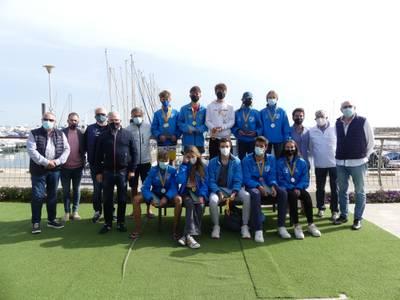 El Club Nàutic Salou entrega los trofeos del Campeonato de Catalunya de Windsurf