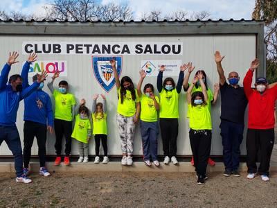 El Club Petanca Salou pone en marcha la primera Escuela en Catalunya