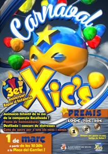 El Club Xic's propone un carnaval infantil para Salou con una gran fiesta de disfraces
