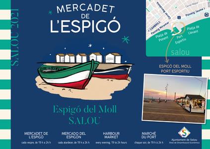 El Mercado del Espigón vuelve a Salou, este próximo sábado, 12 de junio, y hasta el 15 de septiembre