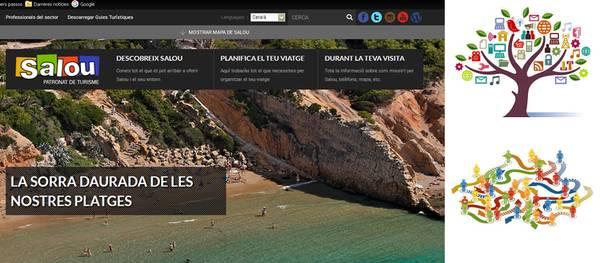 El portal web del Patronato de Turismo de Salou casi triplica las visitas durante el 2015
