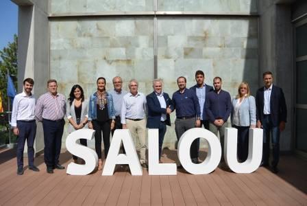 Firmado el acuerdo de gobierno entre Sumem per Salou y PSC en el Ayuntamiento de Salou