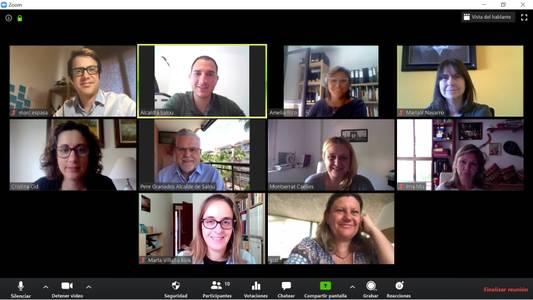 La Aliança Turística se reúne para unificar criterios y compartir estrategias de promoción y fórmulas de trabajo para hacer frente a los efectos del COVID-19