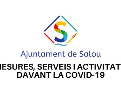 La ciudadanía puede consultar online todas las medidas, actividades y servicios que ha impulsado el Ayuntamiento de Salou a raíz del COVID-19