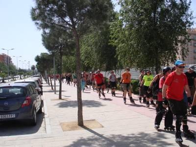 La Ruta Costa Dorada 2011 con Patines ha tenido un gran éxito de participación