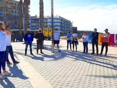 Las 6 limpiezas 'Let's Clean Up Europe 2021', que tuvieron lugar el 8 de mayo, en Salou, recogieron 2.353 litros de residuos