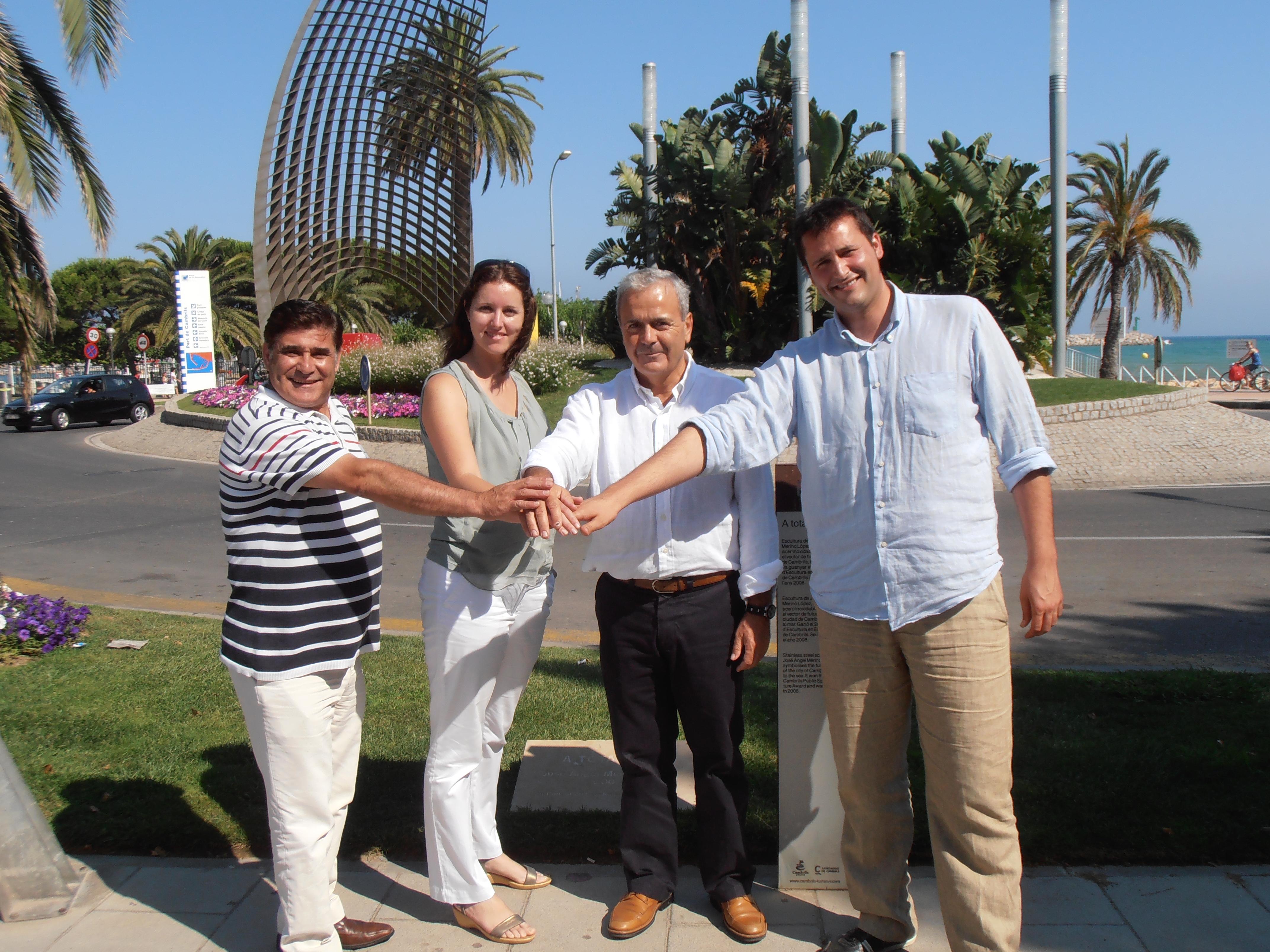 Los Concejales De Turismo De Cambrils Salou Vila Seca Y Reus Se Reúnen Para Trabajar En La Planificación De Las Acciones De Promoción Conjunta Para El Año Que Viene Ayuntamiento De Salou