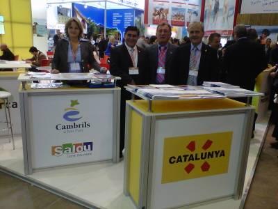Los concejales de Turismo de Salou y Cambrils se reúnen con touroperadores y agencias receptivas rusas en Moscú