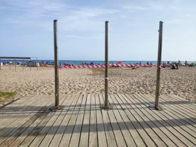 Salou abrirá las duchas de las playas y calas mañana viernes, 10 de julio, cumpliendo con las medidas sanitarias exigidas