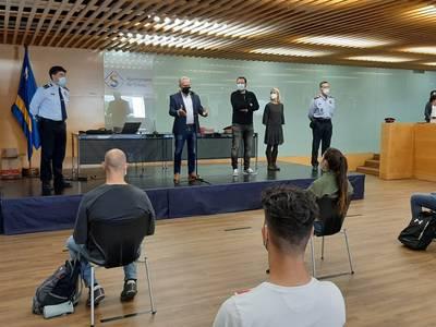 Salou acoge un nuevo curso para agentes interinos de verano, a cargo del Institut de Seguretat Pública de Catalunya (Mollet del Vallès)