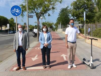Salou, Cambrils y Vila-seca presentan las bases para una futura normativa que regulará el uso de los patinetes eléctricos y bicicletas asistidas
