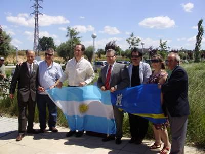 Salou celebra con la comunidad argentina el bicentenario de su República.