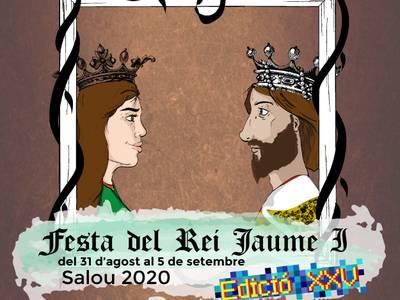 Salou celebra, este año, la Fiesta del Rey Jaume de forma virtual, a través de las redes sociales